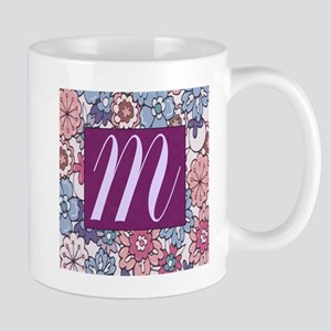 Background Flower Mugs