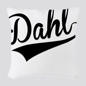 Dahl, Retro, Woven Throw Pillow