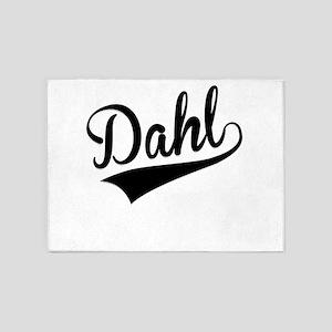 Dahl, Retro, 5'x7'Area Rug
