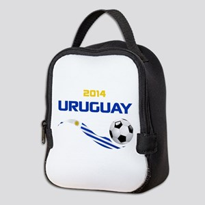 Soccer 2014 Uruguay Neoprene Lunch Bag