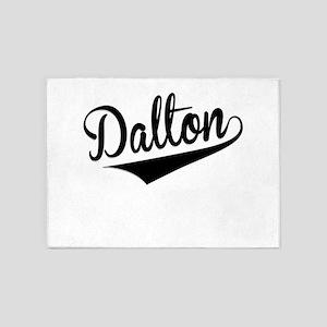 Dalton, Retro, 5'x7'Area Rug