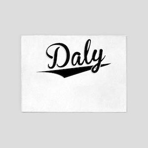 Daly, Retro, 5'x7'Area Rug