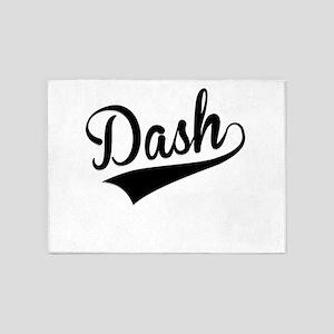 Dash, Retro, 5'x7'Area Rug