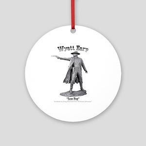 Wyatt Earp Ornament (Round)