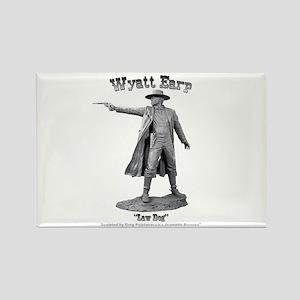 Wyatt Earp Rectangle Magnet