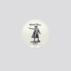 Wyatt Earp Mini Button