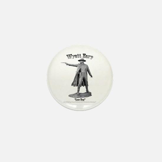 Wyatt Earp Mini Button