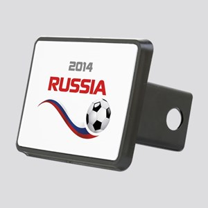 Soccer 2014 Russia Rectangular Hitch Cover