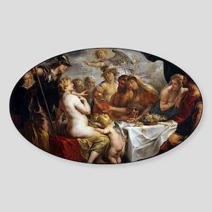 Jordaens - Golden Apple of Discord - 1633 - Oil on