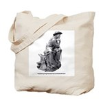 Cowboy Thinker Tote Bag