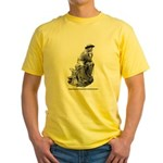 Cowboy Thinker Yellow T-Shirt