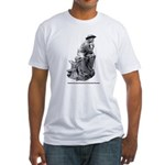 Cowboy Thinker Fitted T-Shirt