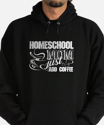 Homeschool Mom - Just add coffee - Funn Sweatshirt