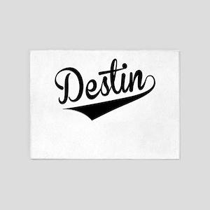 Destin, Retro, 5'x7'Area Rug