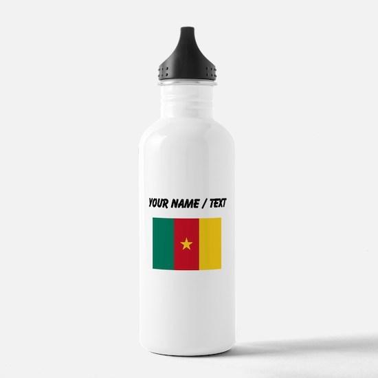 Custom Cameroon Flag Water Bottle