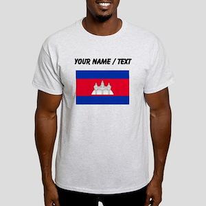 Custom Cambodia Flag T-Shirt