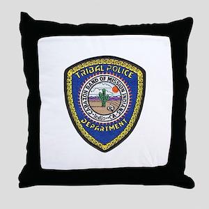 Indio Cabazon Police Throw Pillow