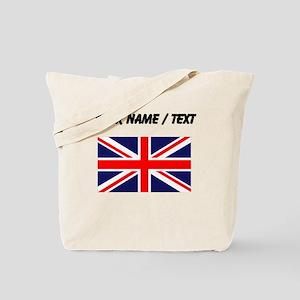 Custom Britain Flag Tote Bag