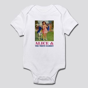 LICE & THE WHITE RABBIT Infant Bodysuit