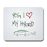 Hybrid Car Mousepad