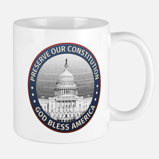 Preserve Our Constitution Mugs