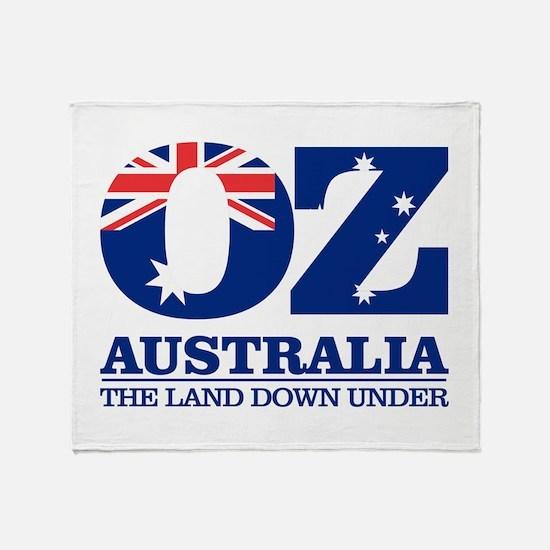 Australia (OZ) Throw Blanket
