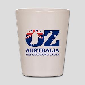 Australia (OZ) Shot Glass