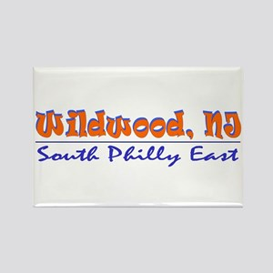 Wildwood - South Philly Rectangle Magnet