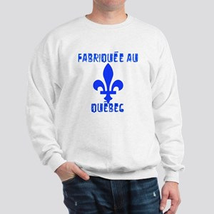 Fabriquee au Quebec Sweater