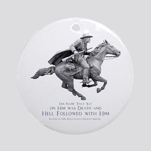 Hell Rider Ornament (Round)