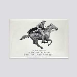 Hell Rider Rectangle Magnet
