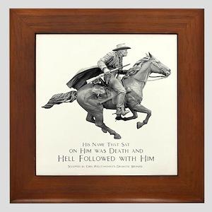 Hell Rider Framed Tile