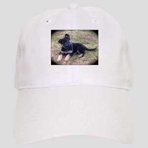German Shepherd Pup Baseball Cap