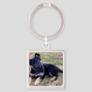 German Shepherd Pup Keychains