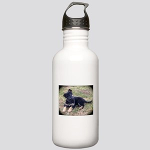 German Shepherd Pup Water Bottle