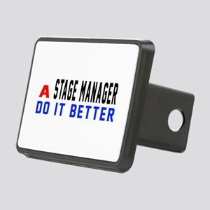 Stage Manager Do It Better Rectangular Hitch Cover
