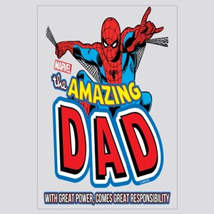 The Amazing Dad Wall Art