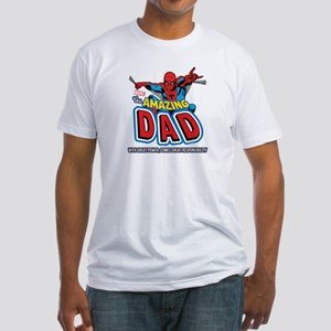 The Amazing Dad Fitted T-Shirt