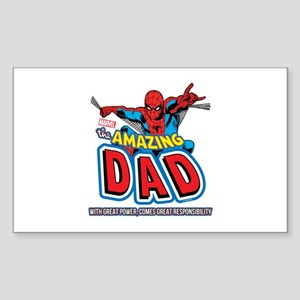 The Amazing Dad Sticker (Rectangle)