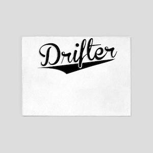 Drifter, Retro, 5'x7'Area Rug