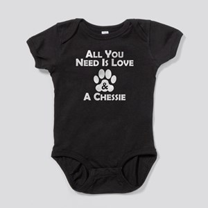 Love And A Chessie Baby Bodysuit