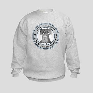 Liberty Bell Kids Sweatshirt