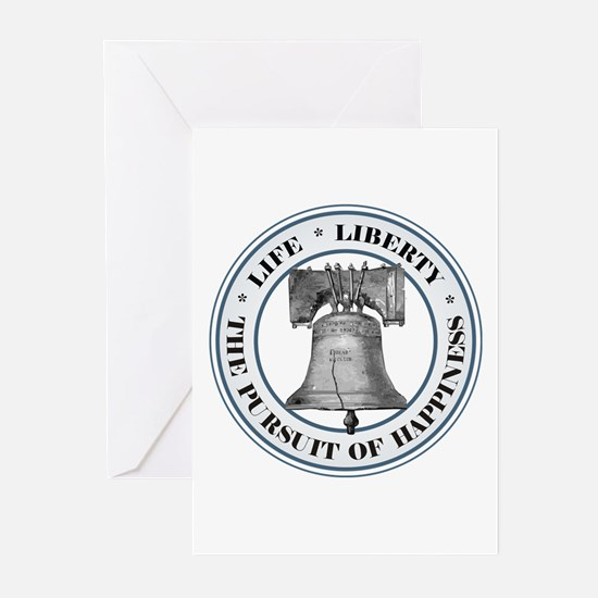 Liberty Bell Greeting Cards (Pk of 10)