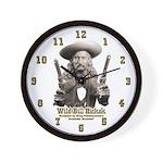 Wild Bill Hickok 01 Wall Clock