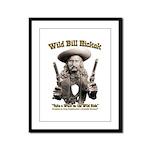 Wild Bill Hickok 01 Framed Panel Print