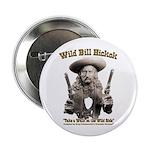Wild Bill Hickok 01 Button