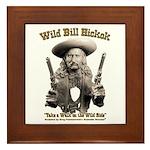 Wild Bill Hickok 01 Framed Tile