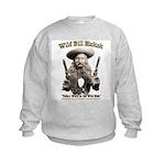 Wild Bill Hickok 01 Kids Sweatshirt