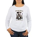 Wild Bill Hickok 01 Women's Long Sleeve T-Shirt