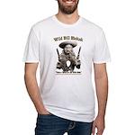 Wild Bill Hickok 01 Fitted T-Shirt